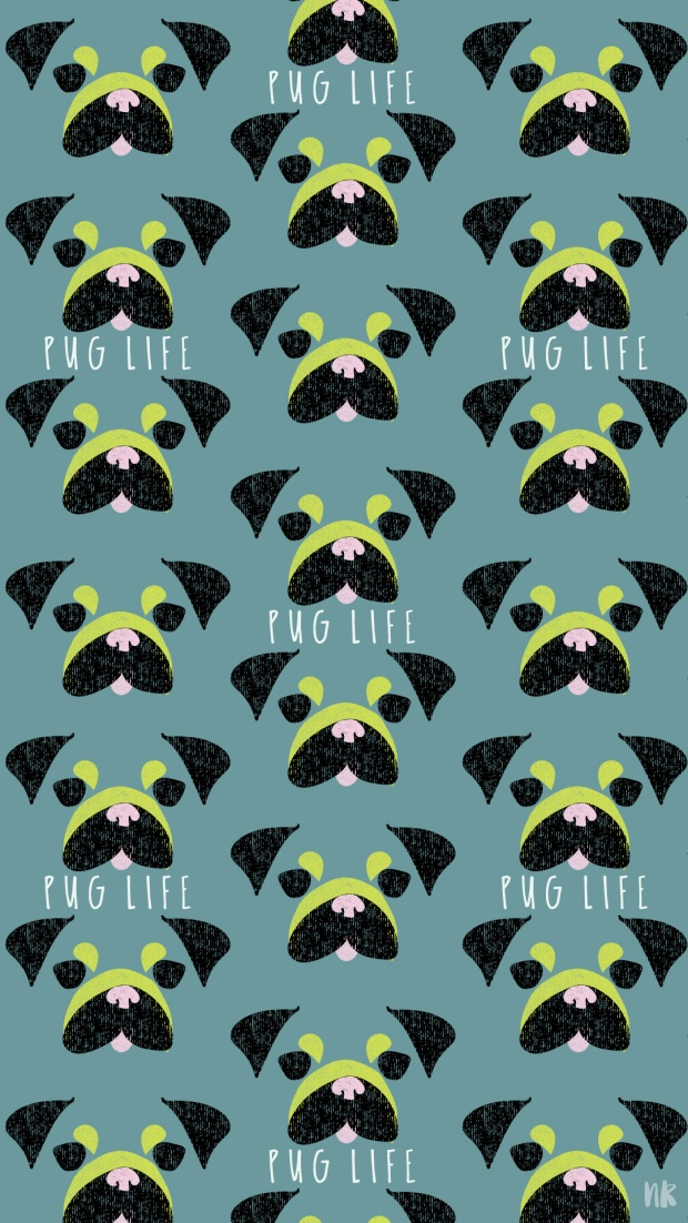 Pug-Life-Freebie-iphone